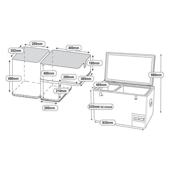 National-Luna-90LT-Refrigerator-Dimensions-600x600